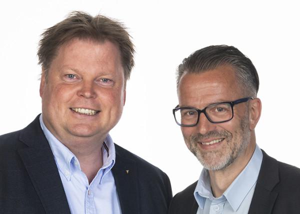 Jørn Lier Horst & Thomas Enger. Photo: Tom Hansen