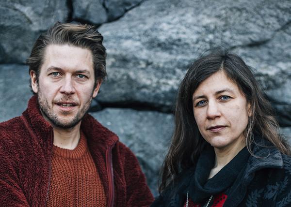 Simon Stålenhag & Anna Davour. Photo: Linnéa Jonasson Bernholm