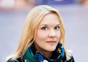 Johanna Holmström. Photo: Cata Portin