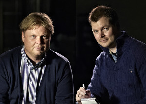 Jørn Lier Horst & Hans Jørgen Sandnes. Photo: Dag G. Nordsveen